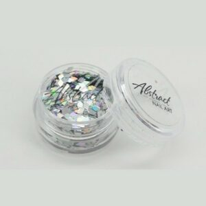 Abstract Chrome & Glitter